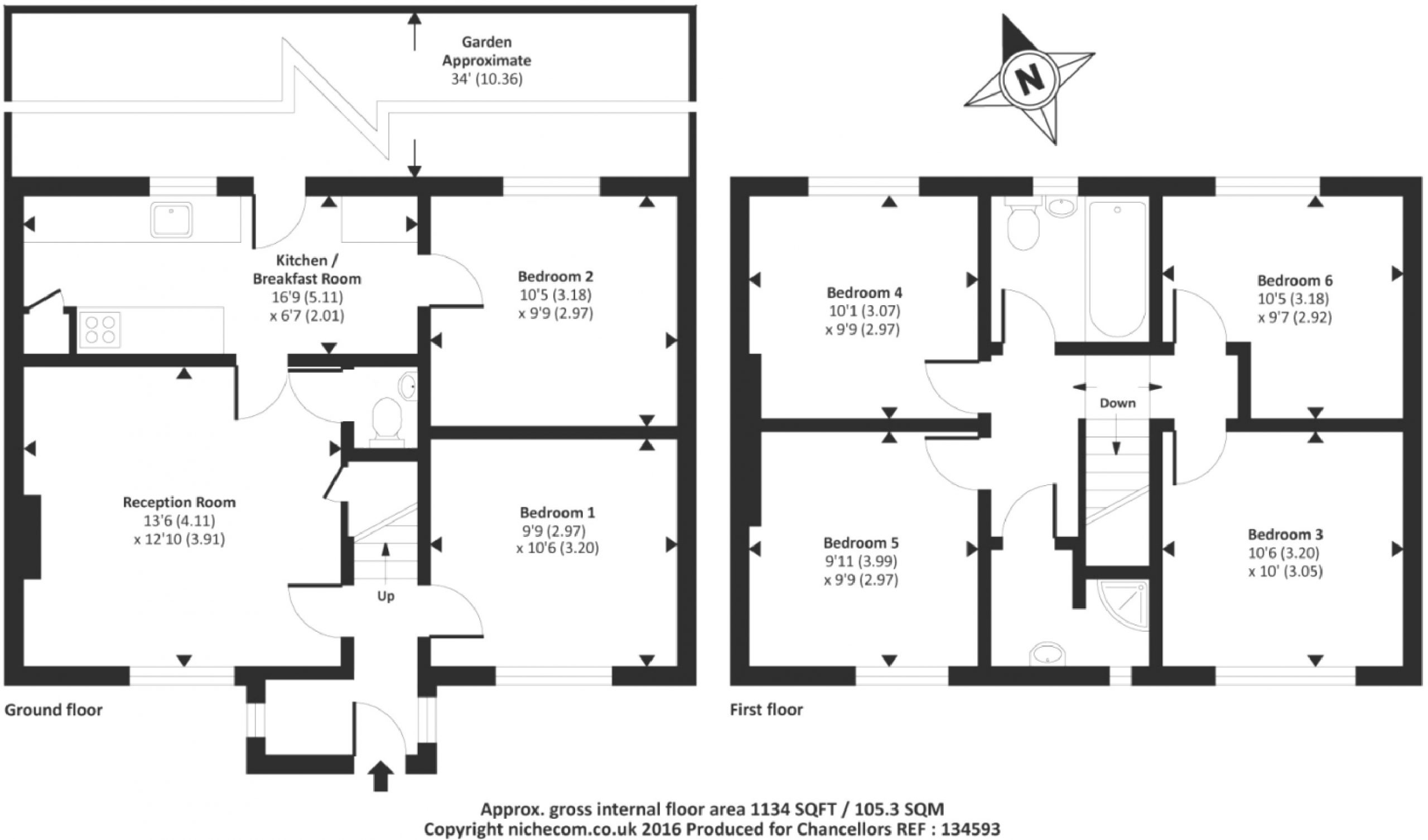 Fullers Avenue 32 – Floor Plan