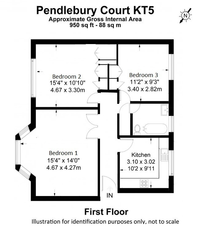 Pendlebury Court, Flat 5 – Floor Plan