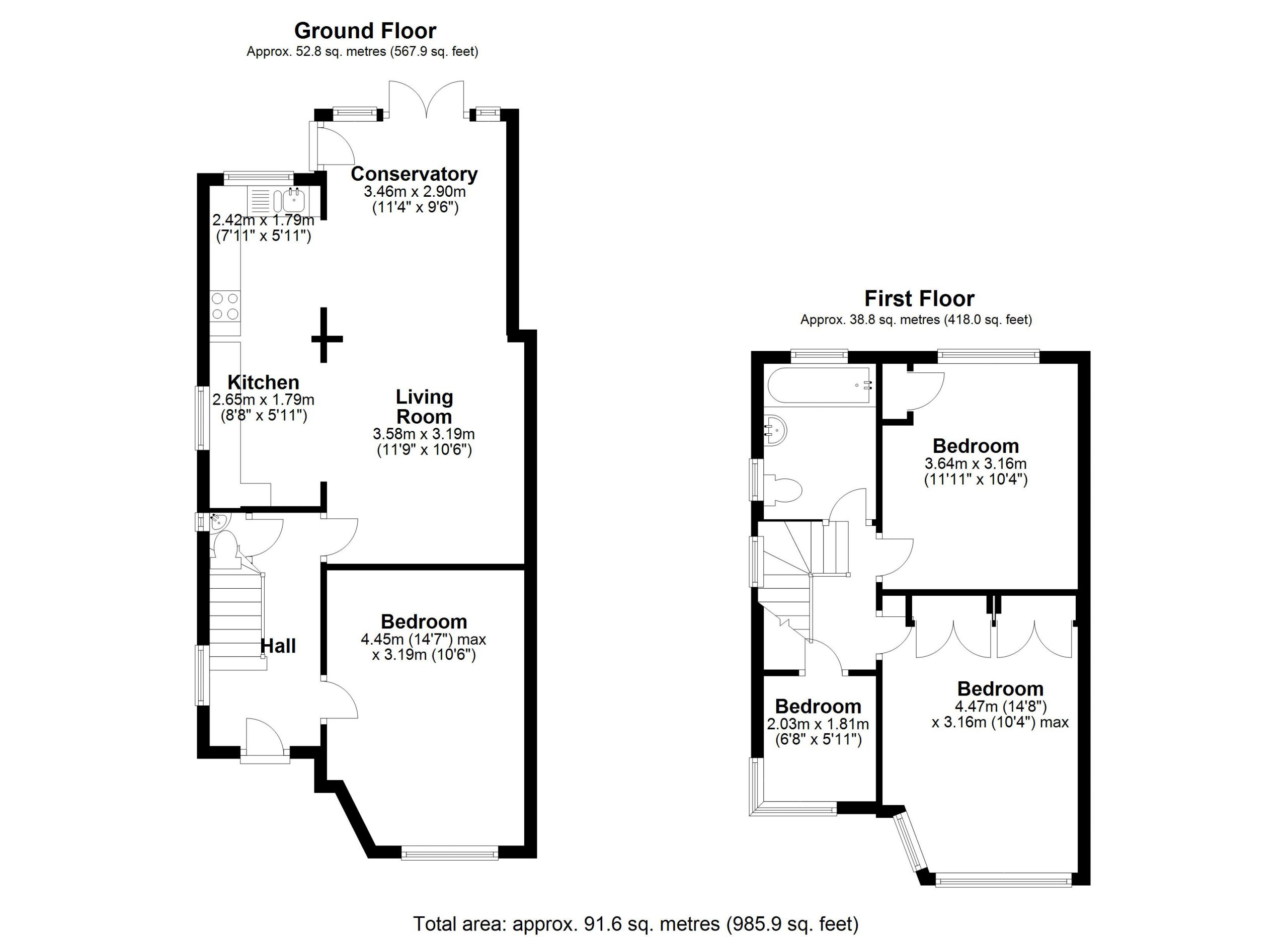Cheyne Hill 26 – floor Plan