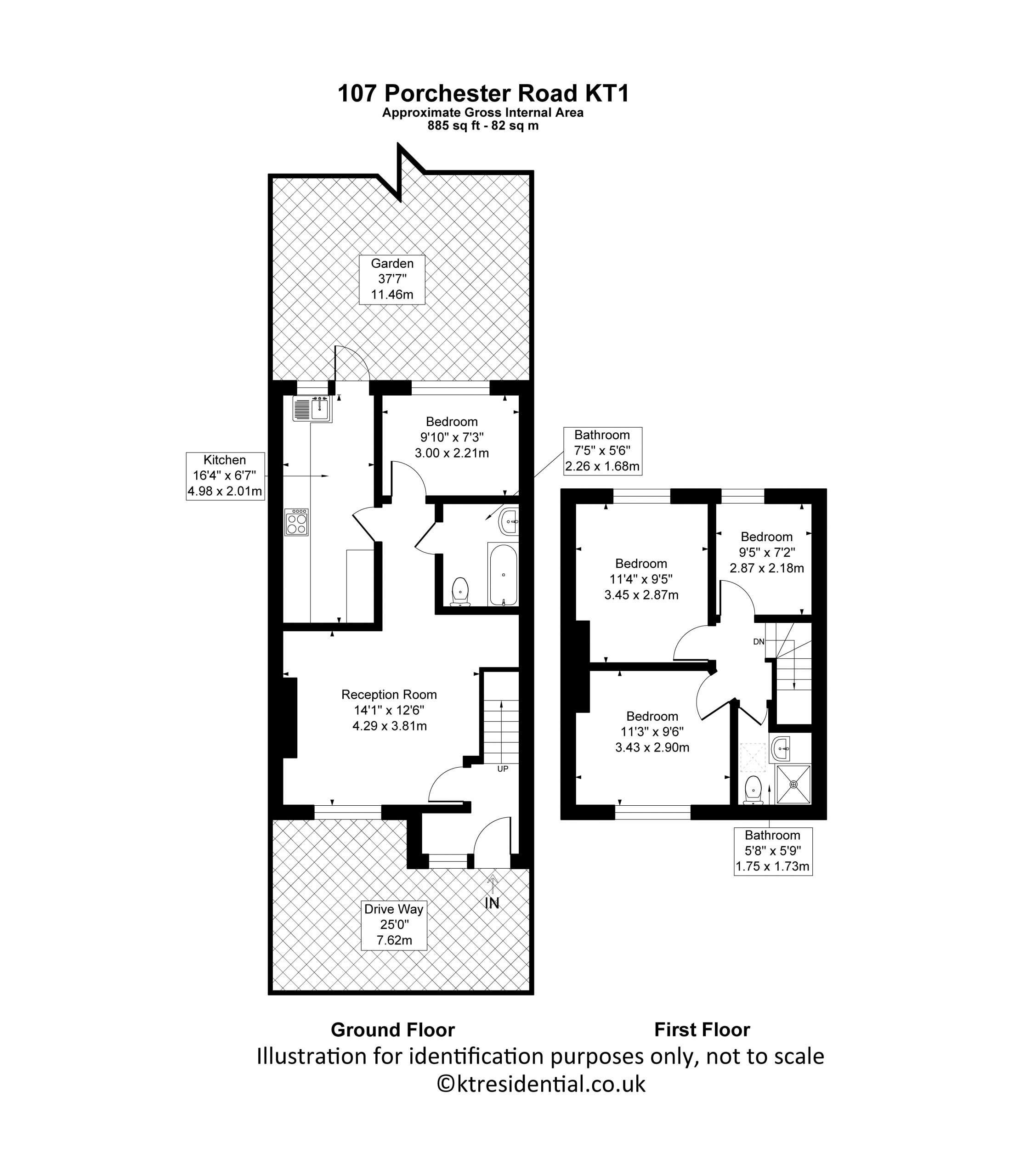Porchester Road 107 – Floor Plans