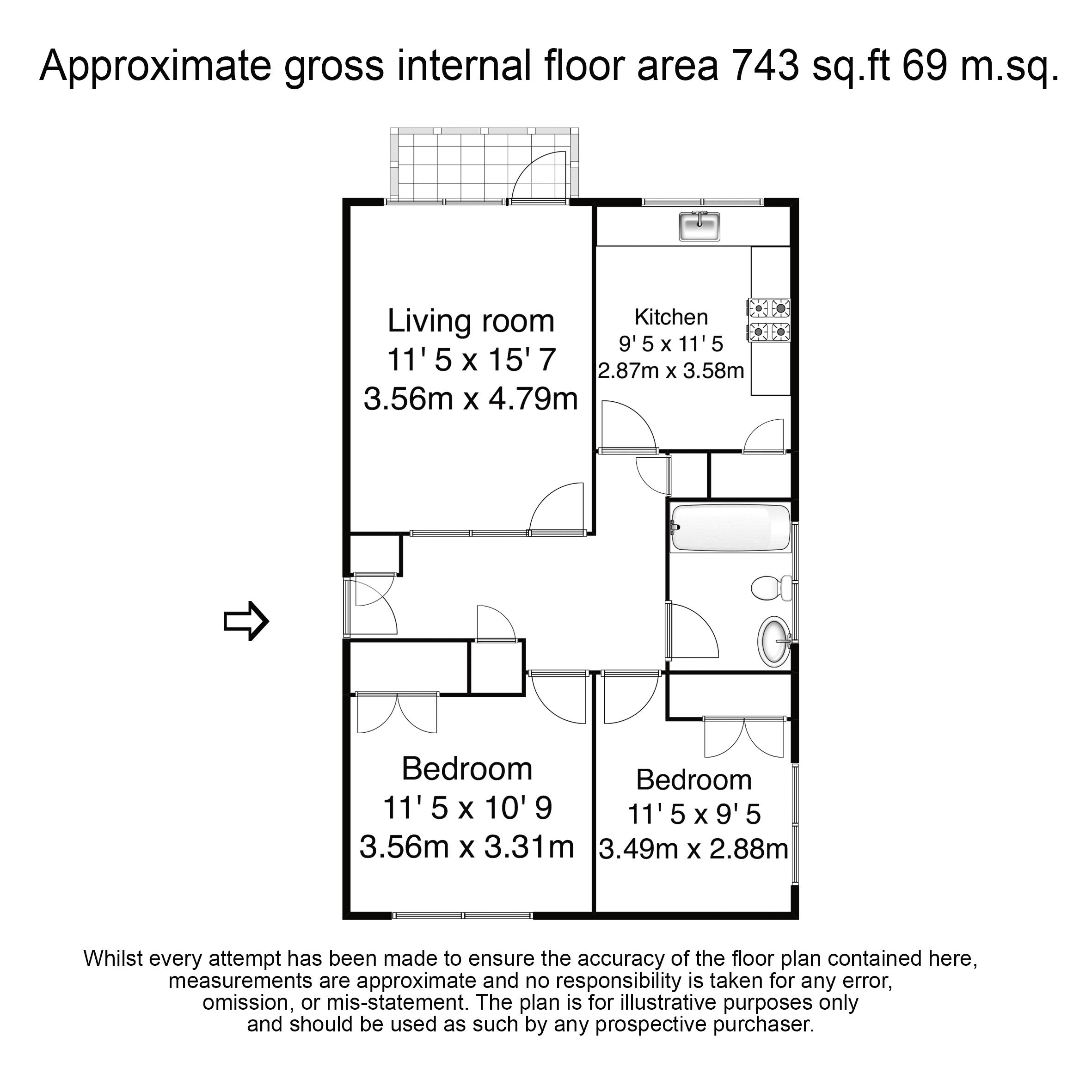 Surrey Lodge, Flat 10 – Floor Plans